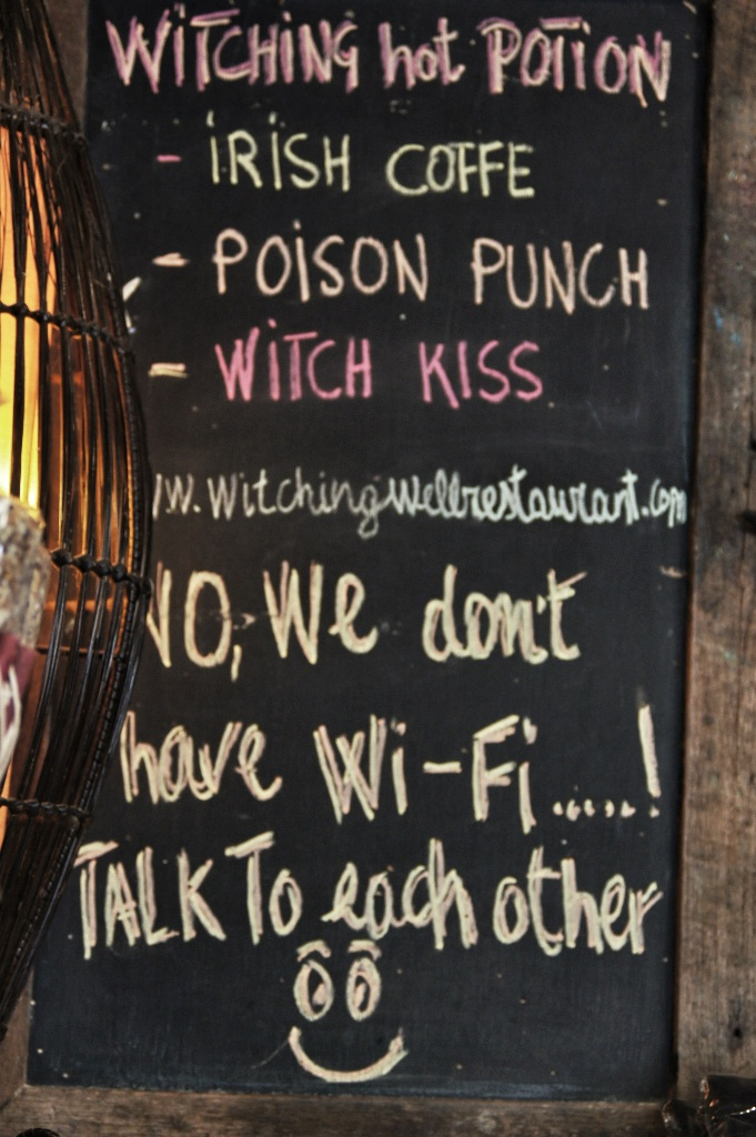 Witching Well restaurant in Pai.